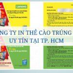 Top 3 công ty in thẻ cào trúng thưởng uy tín tại TP. HCM