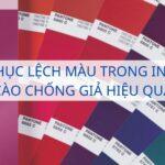 Khắc phục lệch màu trong in ấn thẻ cào chống giả hiệu quả