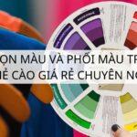Mẹo chọn màu và phối màu trong in ấn thẻ cào giá rẻ chuyên nghiệp