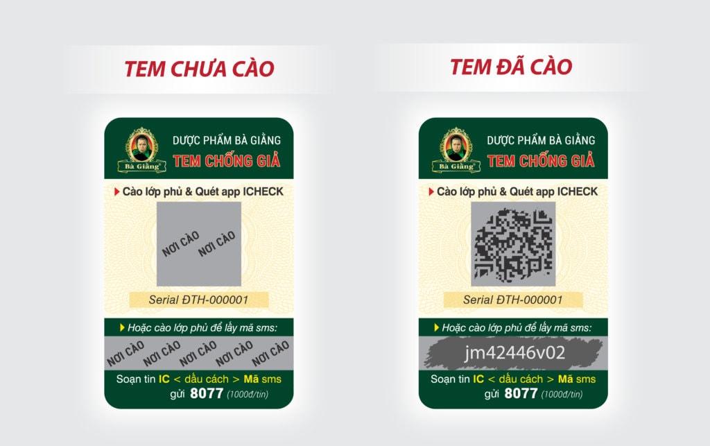 Các loại tem chống giả SMS được ưa chuộng
