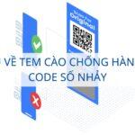 tem cào chống hàng giả QR Code số nhảy